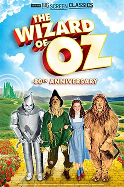 Wizard of Oz 80th Anni (1939) TCM poster